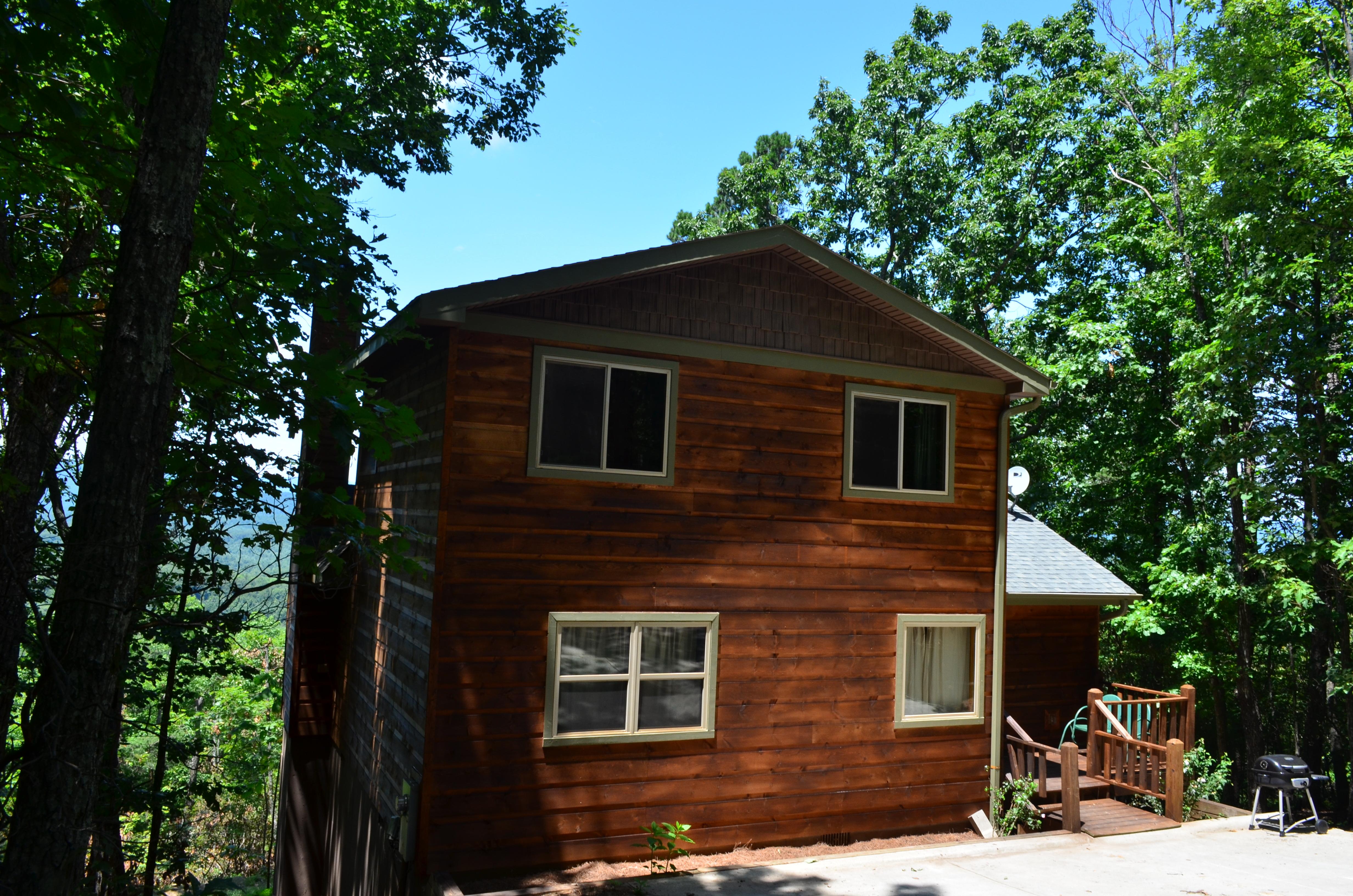 Almost heaven helen ga cabin rentals cedar creek cabin for Www helen ga cabins com