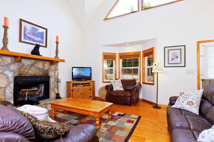 Hummingbird lodge helen ga cabin rentals cedar creek for Helen luxury cabin rentals