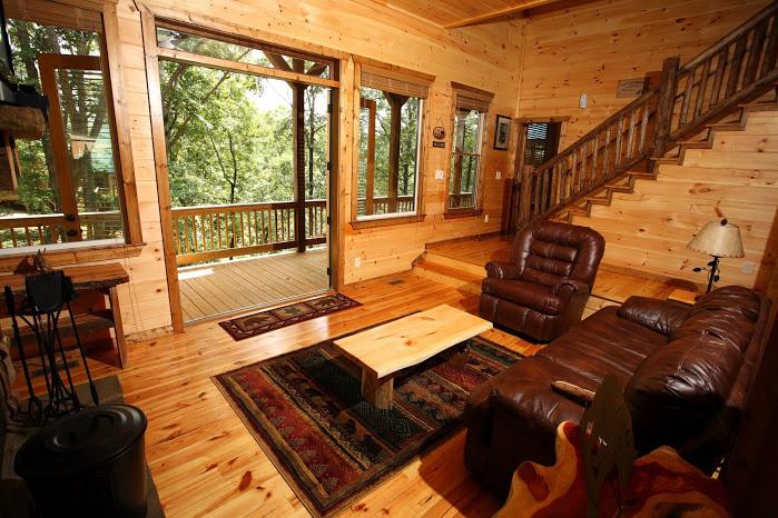 Bear Hollow Helen Ga Cabin Rentals Cedar Creek Cabin