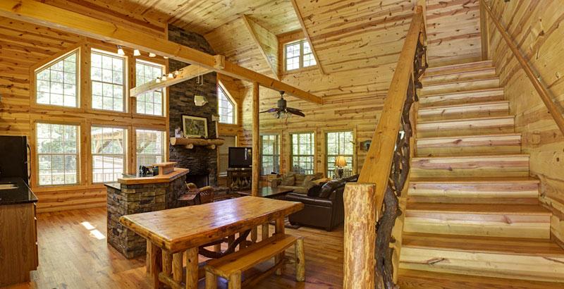 Bobcat lodge helen ga cabin rentals cedar creek cabin for Helen luxury cabin rentals