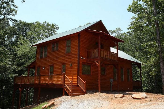 Hickory hill helen ga cabin rentals cedar creek cabin for Helen luxury cabin rentals