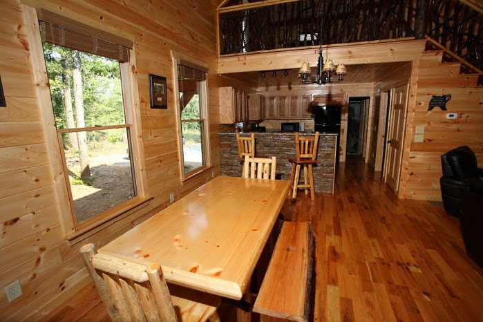 Rustic Dining table for 10.