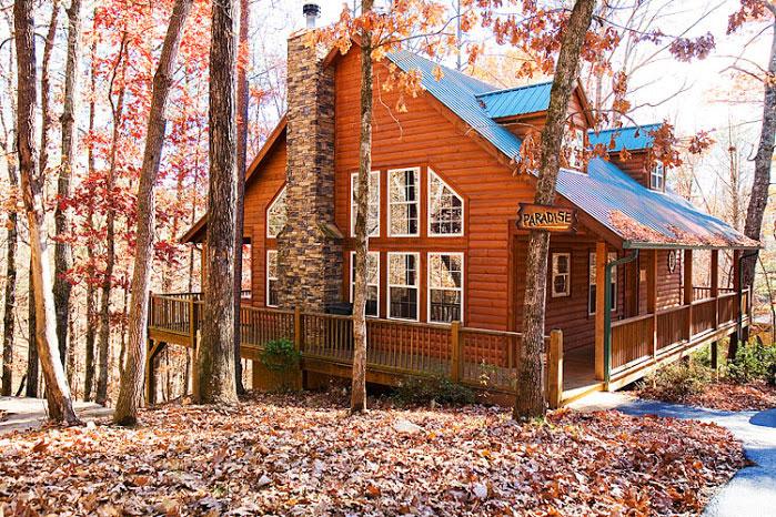 Paradise Helen Ga Cabin Rentals Cedar Creek Cabin Rentals Luxury Cabins