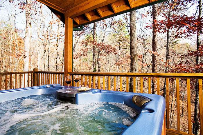 Enjoy the View from the Hot Tub