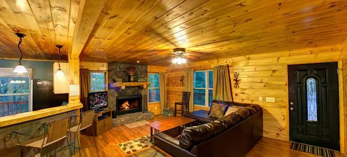 Source: Bedrooms Cabins In Helen Ga Cedar Creek Cabin Rentals