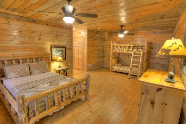 Lower Bedroom w/ Bunks