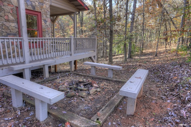 Firepit w bench seating