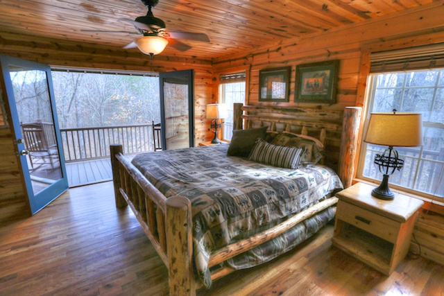 Master Bedroom with Sounds of Waterfall