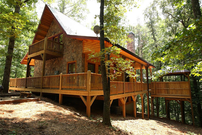 cabin camping in the woods. allwood rustic cabin feel camping in the woods