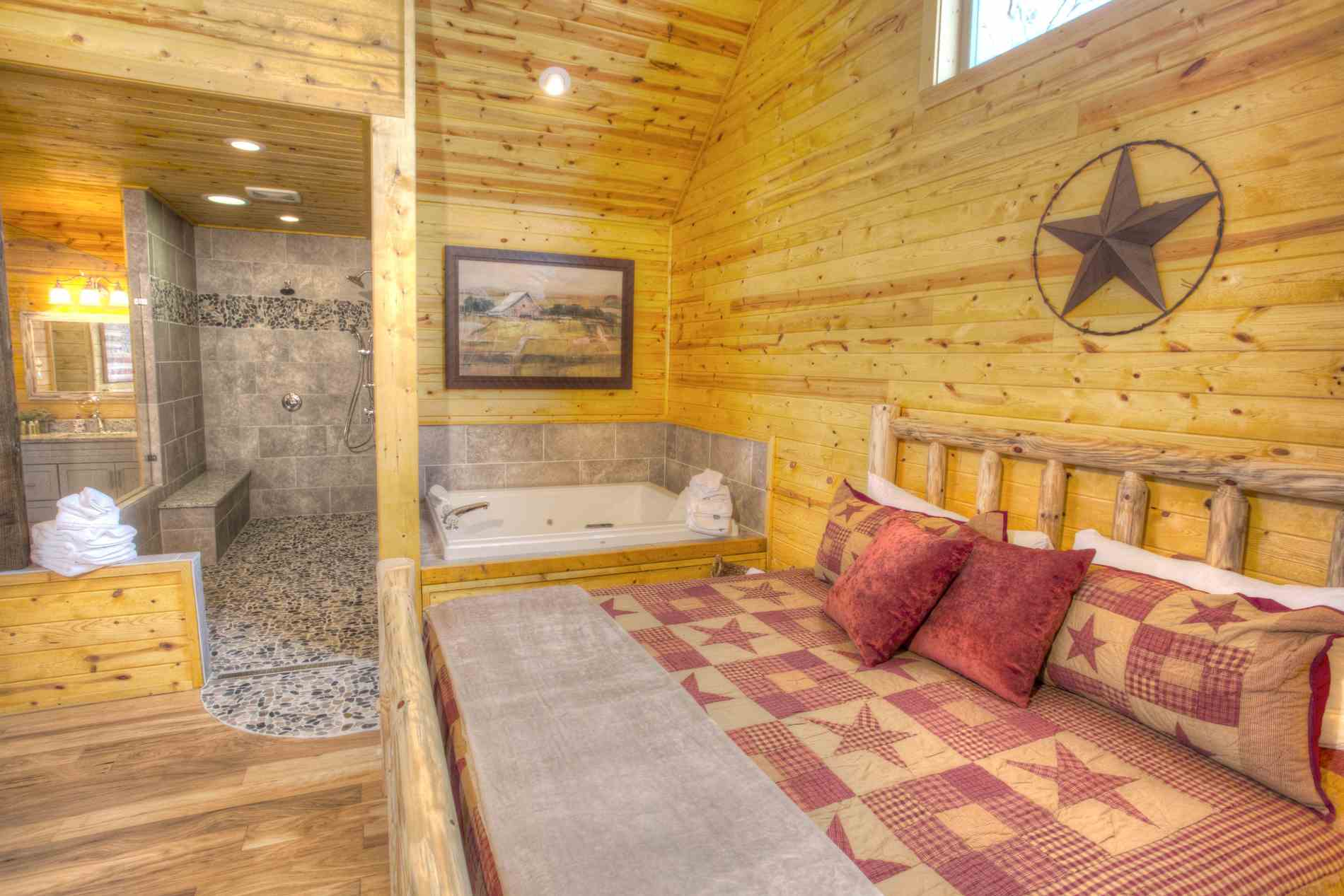boasts this we cabins and spa travelers helen for a shower in rain those at log ga desire remarkable dreamscapenewmasterandtub rentals every both luxury some dreamscape guests cabin turn recommend detailed