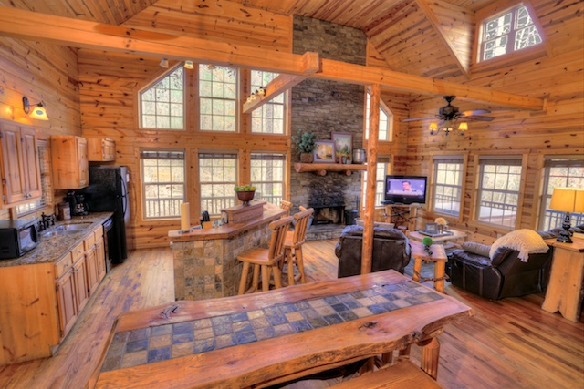 Large Cabin Rentals In Georgia Family Reunions Large